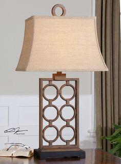 Dardenne Bronze Table Lamp