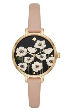 KATE SPADE METRO POPPY WATCH & EARRING SET, 34MM. #katespade # http://amzn.to/2BebDdp
