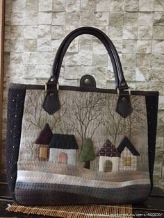 Japanese Patchwork, Japanese Bag, Patchwork Bags, Quilted Bag, Dior Kids, Creative Shoes, House Quilts, Denim Bag, Fabric Bags