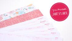 Jahresplaner 2014 - free Printable