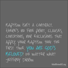 #Baptism #UCC <3