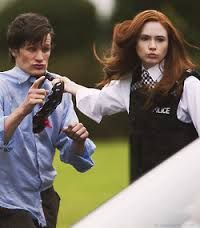 The real reason 11 wore bowties. Haha! I totally forgot that she pinned him to a locked car with his tie. XD