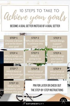 How to Easily Achieve Your Goals Every Time - The 10 Step Method How to easily achieve your goals every time. Check out the 10 step method and go from a goal setter to a goal achiever in no time. Career Goals, Life Goals, Relationship Goals, Business Goals, Career Advice, Women In Business, Career Change, Business Tips, Tony Robbins