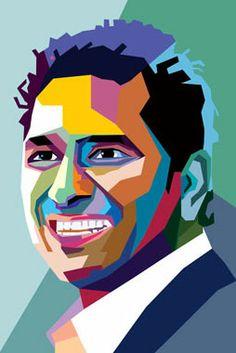 Wedha's Pop Art Portrait of Sachin