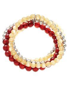 accessory PLAYS® NCAA University Of Minnesota Five Row Stretch Bracelet
