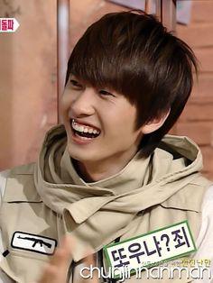 dancing out of the edge: lee hyukjae a.k.a eunhyuk gummy smile