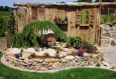 Picture result for ruin wall garden – result # for # Ruin wall … - Modern Patio Pergola, Backyard Fences, Backyard Landscaping, Herb Garden Design, Vegetable Garden Design, Garden Art, Back Gardens, Outdoor Gardens, Walled Garden