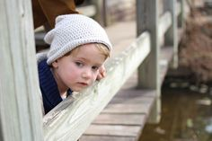FREE Crochet Pattern - Toddler Slouch Hat