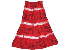 Maxi Skirts Red Tie Dye Cotton Peasant Skirt for Women Mogul Interior,http://www.amazon.com/dp/B00HK8IA8Y/ref=cm_sw_r_pi_dp_3rdWsb1TTANC37F3