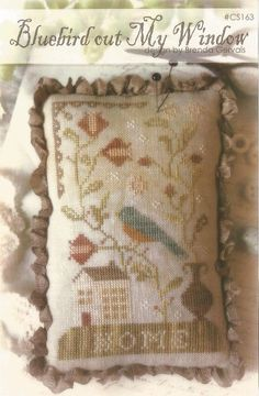 WITH THY NEEDLE & Thread: Bluebird Out My by NeedleCaseGoodies