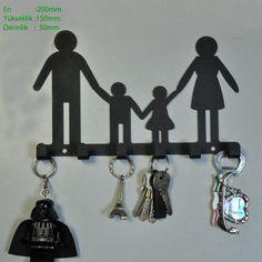 Aile Anahtarlık Askısı