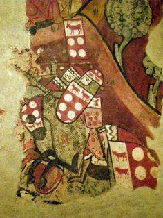 Carga de Porto Pi de Montcada y Mediona a Mallorca. Pinturas goticas del MNAC procedesntes del Palau Caldes 1280