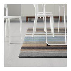 STOCKHOLM Teppich Kurzflor - Handarbeit braun, 170x240 cm - IKEA