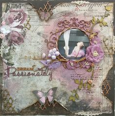 Such a Pretty Mess: A Special 2 Page Kit!! (plus an extra Dusty Attic Kit!) {The Scrapbook Diaries}