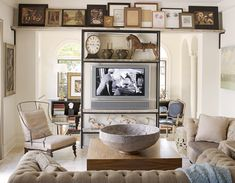 Ingenious Ideas How to Fit TV into Any Interior