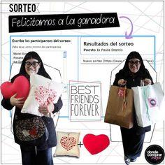 Felicitamos a la ganadora del Sorteo por el Día del Amigo, que ya retiro sus dos premios. https://www.facebook.com/paula.dramis www.tiendadcm.com