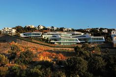 Beautiful Homes in Turkey  Cascading Lava Flows Inspiring Modern Architecture: Hebil 157 Houses by Aytac Architects
