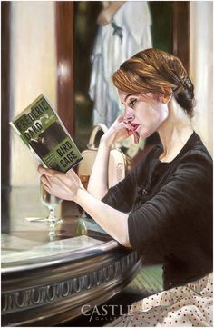 The Reader(Figurative) by Andrew Kinsman - Paintings & fine art pictures available on discounted prices Reading Art, Woman Reading, Reading Books, Books To Read For Women, Impressionist Artists, Book People, Lectures, Book Reader, Oeuvre D'art