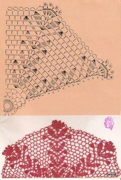 Free Crochet Doily Patterns, Crochet Mandala, Crochet Diagram, Crochet Chart, Thread Crochet, Filet Crochet, Irish Crochet, Crochet Motif, Crochet Curtains