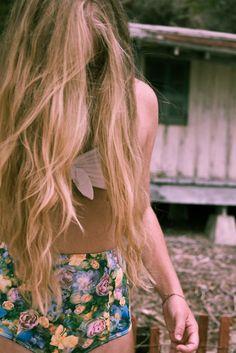 Long luscious hair