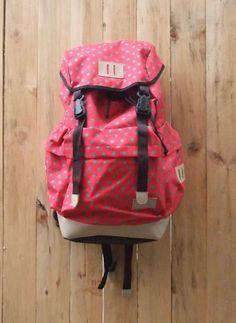 GET #BROMO Polka Red! Cute!      www.TasmuTasku.com