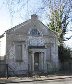 Upminster Old Chapel: under Restoration after the discovery of Unexploded World War Two Bombs