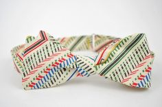 liberty stripe bow tie