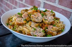 The Kitchenista Diaries: Seafood Sausage in Creole Pasta Sauce