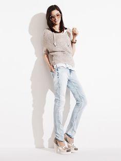 Tommy Hilfiger SS13 Estelle Sweater, Milan Skinny Jeans, Runway Pump