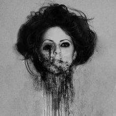 disturbing photography | Creepy Photo Manipulations by Blekotakra | deliciously disturbing