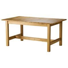 NORDBYN Ruokapöytä, jatkettava - IKEA