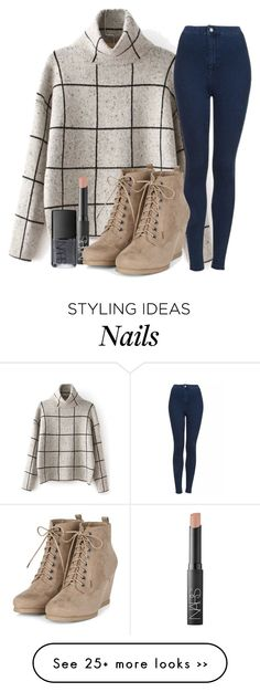 """Fall Outfit"" by jjlexi on Polyvore featuring Topshop, NARS Cosmetics and Fall"