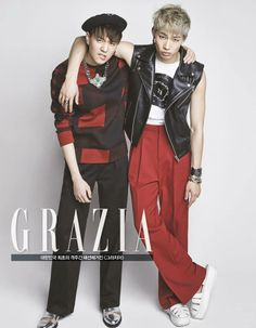 Grazia Feb issue cr GOT7 official Yugyeom JB
