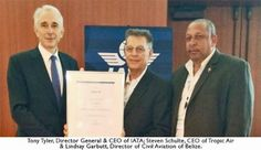 Tropic Air Receives ISSA Award for Standard Safety Assessment
