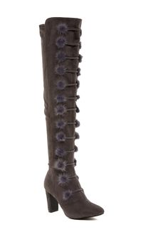 Stevey Faux Fur Over-the-Knee Boot by Catherine Catherine Malandrino on @nordstrom_rack