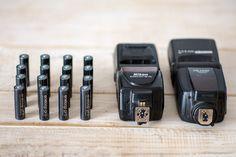 Las pilas recargables recomendadas para el Flash. Pilas recargables Eneloop Pro Flash Nikon  Mas info en el blog. www.jesusmier.com/blog   #pilasrecargables #nikon #flash #iluminacion
