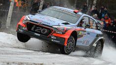 Dani Sordo Hyundai i20 WRC @ Rally Sweden 2016