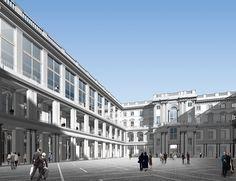 Wiedererrichtung des Berliner Schlosses Hans Kollhoff, Friedrich Wilhelm Iv, Multi Story Building, Louvre, Street View, Architecture, Classic, Travel, New Construction
