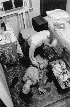 Diane Arbus, 1959 - Wax museum axe murderer, Coney Island, N.Y.C.