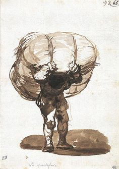 The Carrier by Goya