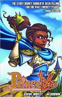 """""""Princeless is a great all-ages comic. It's perfect for parents and kids to read together. Adrienne and Bedelia are funny, and are great role models for young kids."""" Read the rest of Libby's #comicsWednesday review on the library's blog:   http://carnegiestout.blogspot.com/2017/04/comicswednesday-princeless-vol-1-save.html"""