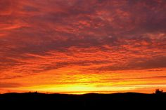 """AccuFan #Weather Photo of the Day: Southern Tier Sunrise in New York by """"theview"""" on 11/10 #photooftheday"""