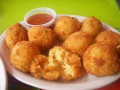 Fried Macaroni and Cheese... it really is good!