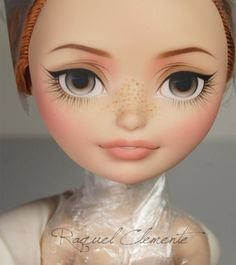 Raquel Clemente • WIP Ever After High Holly O'Hair for my Etsy shop...