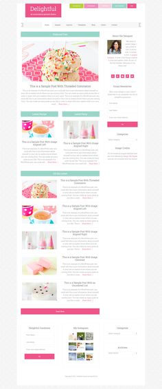 Beautiful Feminine WordPress Themes for Women