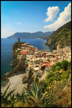 Vernaza from the incredible Cinque Terre, Italy.