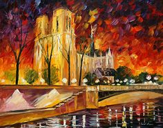 paintings of paris - Google Search