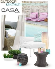 """""""Outdoor Lounge with Casa.com"""" by mahora on Polyvore"""