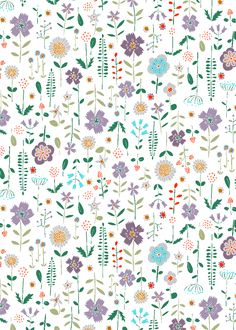 pattern by MINAKANI for LA REDOUTE www.minakani.com #minakani #pattern #liberty