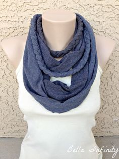 Bella Infinity Braided Scarf Jersey Fabric by BellaInfinityScarves, $28.00 www.facebook.com/infinity0512